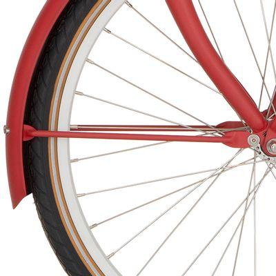 Cortina v spatb stang 24 U4 true red matt