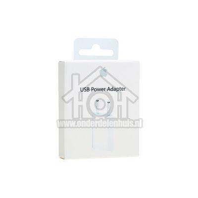 Foto van Apple USB power adapter Lichtnetadapter 5W - A1400 Oplader voor iPhone, iPod MD813ZM/A