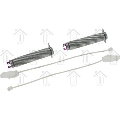 Bosch Reparatieset Van deurbalans, 2x veer en 2x touw SN69T090BL, SX66N057EU 00754873
