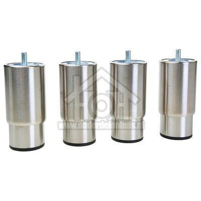 Smeg Stelpoot Verhogingsset, min 135mm - max 190mm C9GMXNLK9, C6GMNNLK8, SNLK61MX9 KITH95