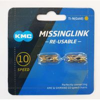 KMC Sluitschakel MissingLink 10R Ti-N Gold 5.88mm 10v (2)