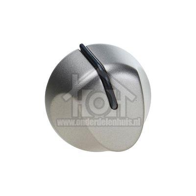 Whirlpool Knop Gasknop, zilver AKM519, AKM533, TGZ6400 481241278835
