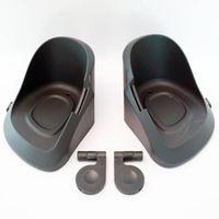 Qibbel voetenbakjes voor/achterzitje