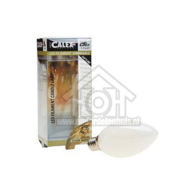 Foto van Calex Ledlamp Filament Kaarslamp 240V 3,5 Watt 290 Lumen 2700K E14 B35 Softline Dimbaar 474491