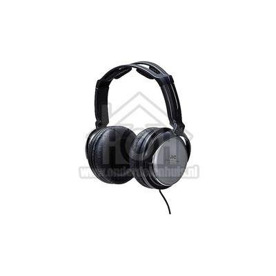 JVC Hoofdtelefoon Full Size Stereo Hoge Kwaliteit Zwart/Zilver met 3,5 meter snoer