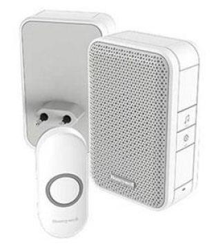 Plug-in deurbel met drukknop