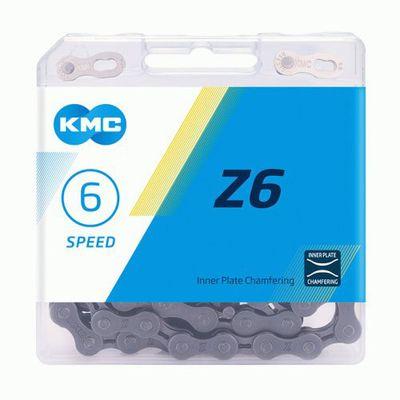 KMC ketting 1/2x3/32 114s Z6 grijs 5/6v