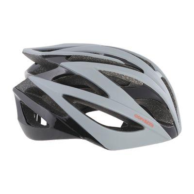 Contec Helm Race Tempest. Zwart / Grijs / Neored, Maat M (55-58 Cm)