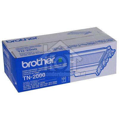 Brother Tonercartridge TN 2000 Black HL2030, HL2040, HL2070N TN2000