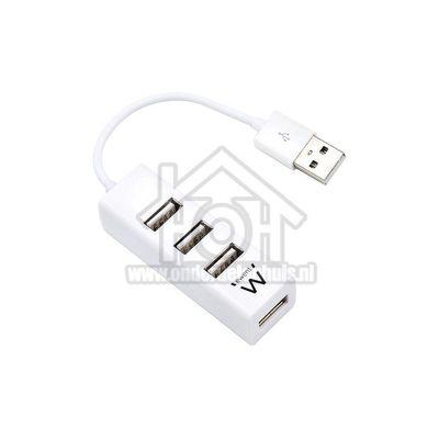 Ewent Hub 4 poorts USB hub mini USB 2.0 Wit EW1122
