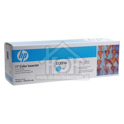 HP Hewlett-Packard Tonercartridge CC531A Cyan Color LaserJet CP2025 CC531A
