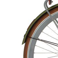 Cortina a spatb 28 Mozzo ilu nutmeg green matt