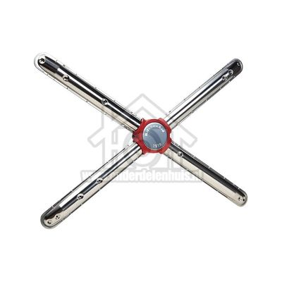 Whirlpool Sproeiarm Onder, metaal met dubbele arm KDSCM82130, KDSCM82140, KDSDM82130 481010751364