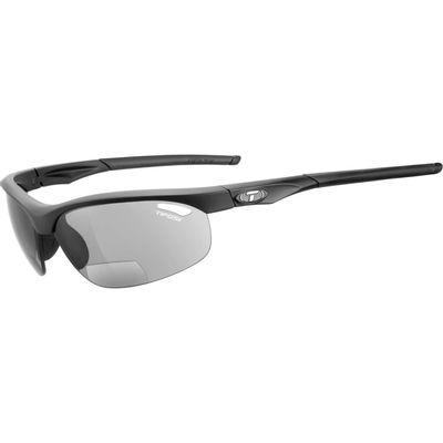 Tifosi bril Veloce mat zwart +2.5 smoke