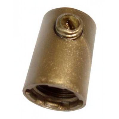 Klemnippel M10 Binnendraad Brons