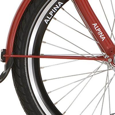Alpina spatb stang set 22 GP red