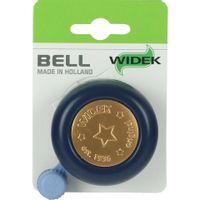 Widek bel staal jeans blauw op kaart Widek 4306