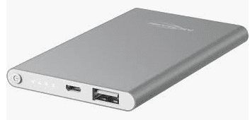Powerbank 4000mAh USB silver
