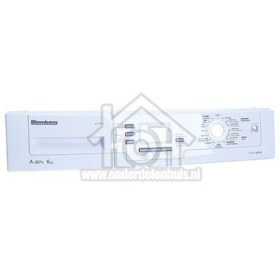 Blomberg Frontpaneel Dashboard TKF1350/2 2970009014