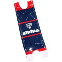 Alpina padset loopfiets dark red