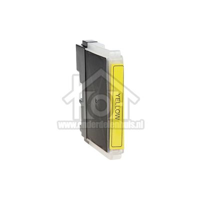 Foto van Easyfiks Inktcartridge LC-1100 Yellow DCP-6690CW, MFC-5890CN, MFC-5895CW LC1100HYY
