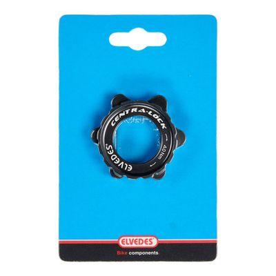 Elvedes center lock +sluitring zwart 6 gaats CP2012048