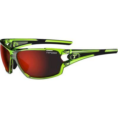 Tifosi bril Amok kristal neon groen clarion rood