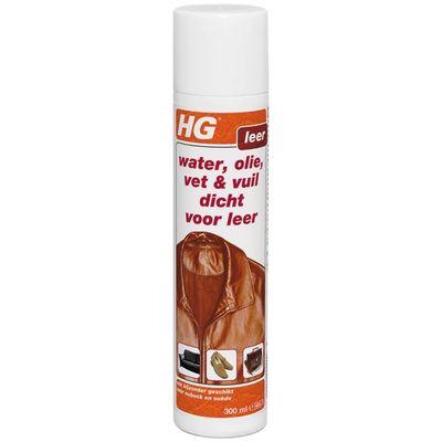 HG Reiniger Water, olie, vet en vuil Dicht voor leder 208030100