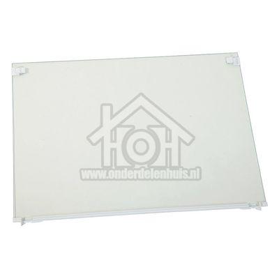 Liebherr Glasplaat 490x360mm. Met strip en bevestiging GNP207620, GNP247620, GNP337620 7272192