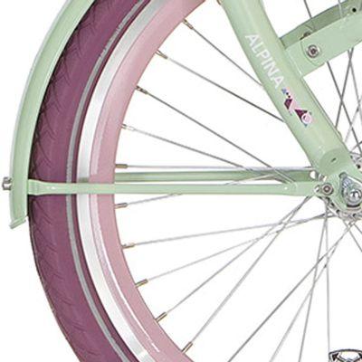 Alpina spatb stang set 22 Clubb blossom green