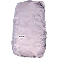 Wowow Bag cover Titanium reflecterend