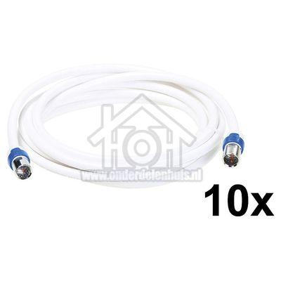 Foto van Hirschmann Aansluitkabel CATV aansluitkabel F male connector F-FKAB 5/3m 695021509