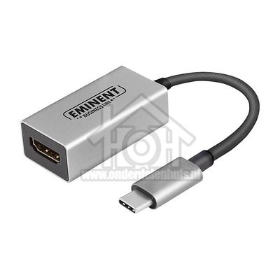 Foto van Eminent Converter USB Converter USB Type C naar HDMI AB7870