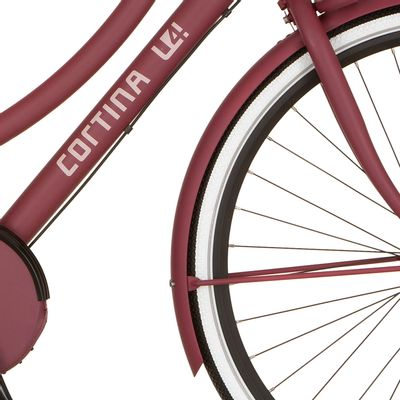 Cortina v spatb 28 U4 raspberry matt