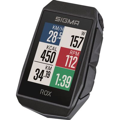 Sigma ROX 11.1 EVO GPS Black HR + sensoren set