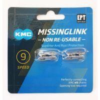 KMC Sluitschakel MissingLink 9NR EPT zilver 6.6mm 9v (2)