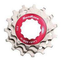 SunRace SPCS10 10v sluitring + kransjes 11-13-15T metallic
