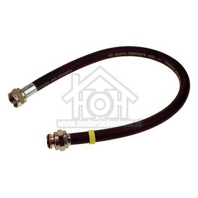 Universeel Gasslang Rubber flexibel voor los staande apparaten Gastec 50 cm met koppelingen 404667