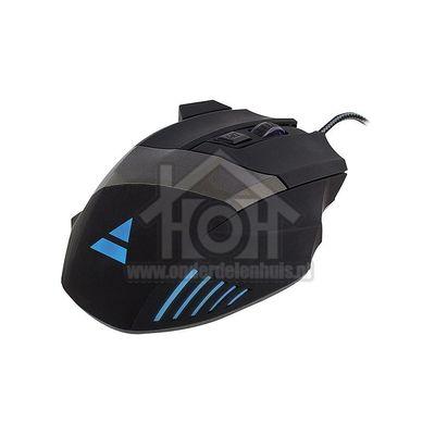 Play Muis Gaming muis Hoge gevoeligheid, licht effect en 4 dpi niveaus PL3300