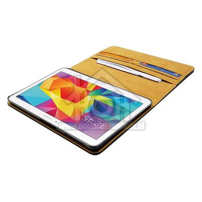 Spez Book Case Leder, Zwart, 4 creditcard slots, 1 document slot Samsung Galaxy Tab 4 7