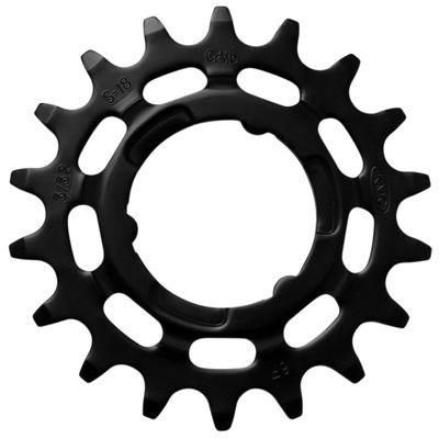 KMC tandwiel R Shimano 20T Chromoly zwart 3/32