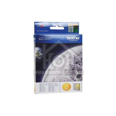 Brother Inktcartridge LC 1000 Yellow DCP130C, DCP330C LC1000Y