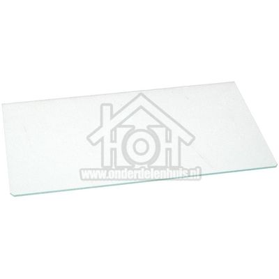 Bauknecht Glasplaat 430 x 260 KRA1400,KVA1300,ARC0700, 481050213182