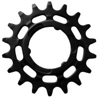 KMC tandwiel R Shimano 19T Chromoly zwart 3/32