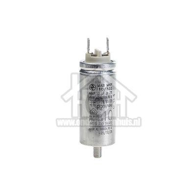 Bauknecht Condensator 10 uf TRKK6211, TRAK6440, AWZ321 481212118144