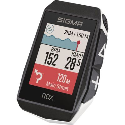 Sigma ROX 11.1 EVO GPS White HR set