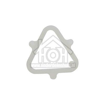 Whirlpool Ring Kunststof, driehoek WET3300, AWM908, AWZ481 481953228227