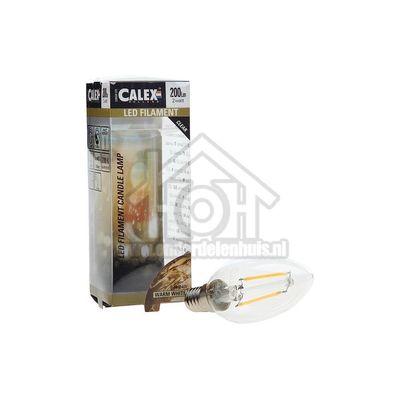 Foto van Calex Ledlamp Filament Kaarslamp 240V 2 Watt 200 Lumen 2700K Helder E14 B35 425002
