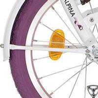 Alpina spatb stang set 18 Clubb traffic white