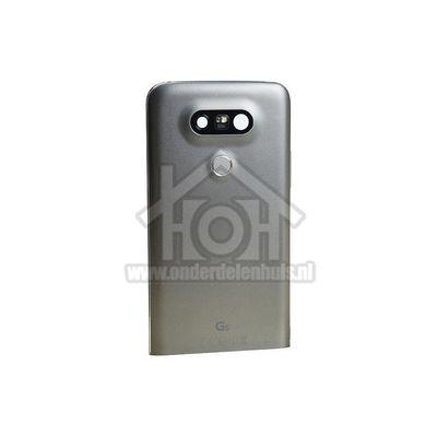 Foto van LG Back Cover Achterbehuizing, Titan Silver LG H850 G5 ACQ88954403